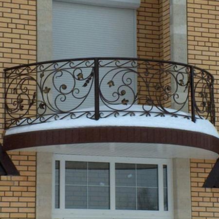 garde corps balcon en fer forgé