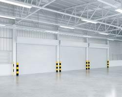 fabrication et installation de rideau de fer pour entrepôt logistique